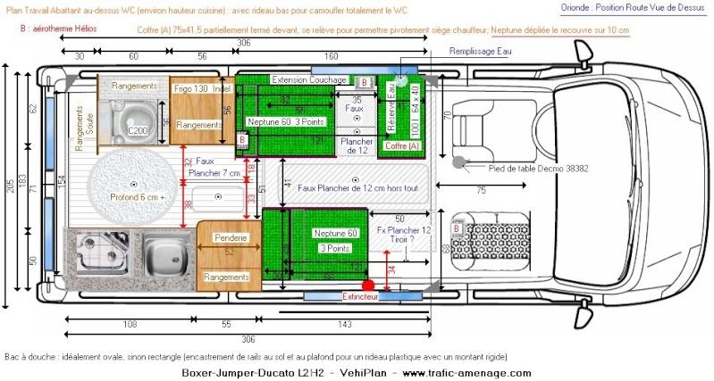 plan amenagement camping car auto moto. Black Bedroom Furniture Sets. Home Design Ideas
