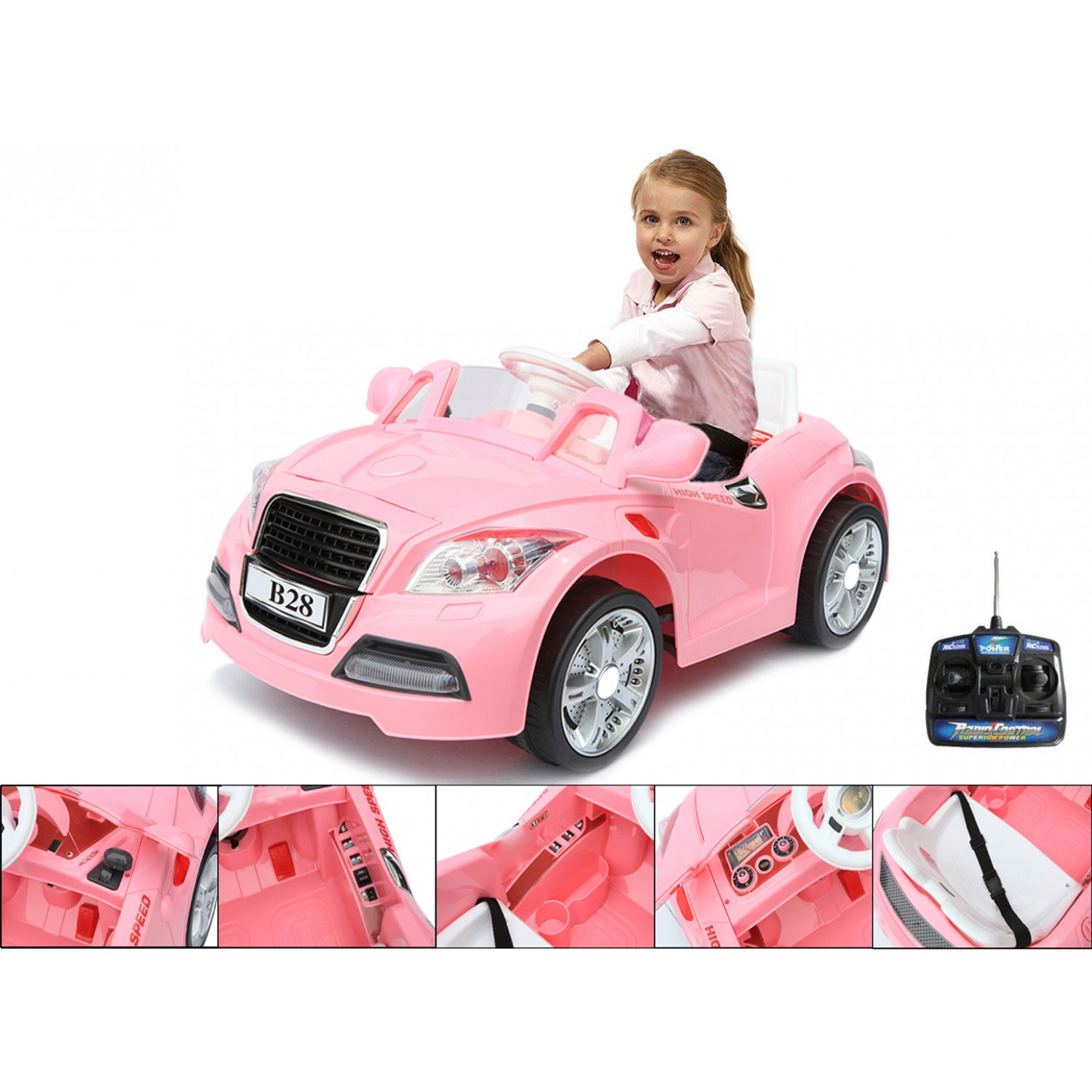 voiture electrique hello kitty 12v auto moto. Black Bedroom Furniture Sets. Home Design Ideas